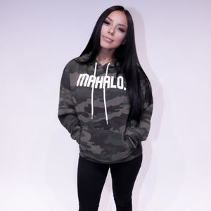 Mahalo Made Limited Release Unisex Camo Hoodie